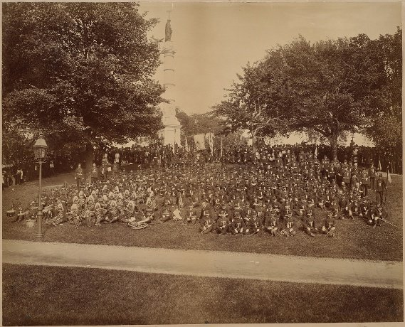 boston common 1886