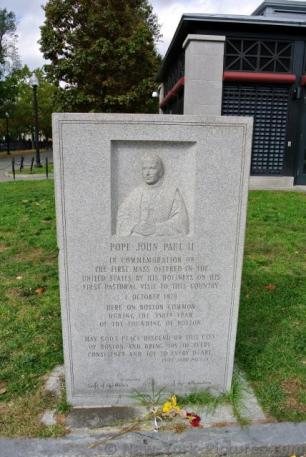 Commemoration of Pope John Paul II Mass in USA October 1 1979 Boston Common