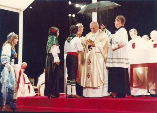 An historic papal visit … in 1979