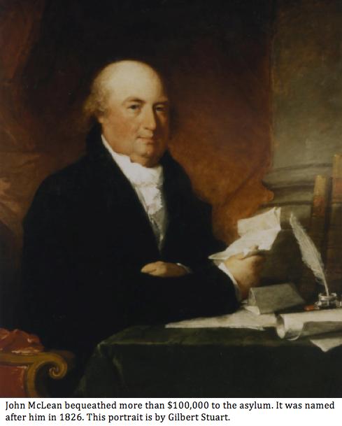 John McLean portrait with caption