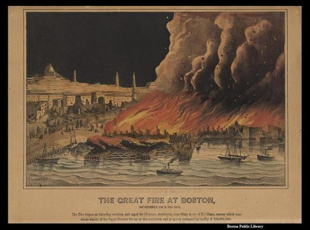 Photo A - GreatFireof1872Lithograph